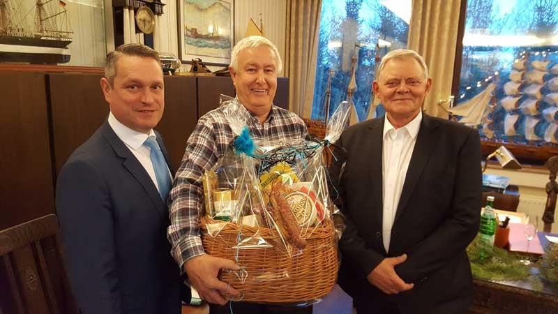v.l.: Gerd Wessels, Gerd Schepers und Willi Kathmann